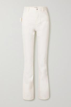 Bottega Veneta High-rise Straight-leg Jeans - Cream