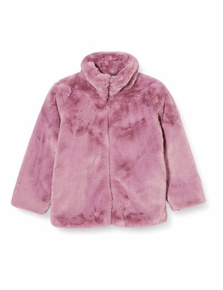 Name It Girls' NMFMAMY Faux Fur Jacket
