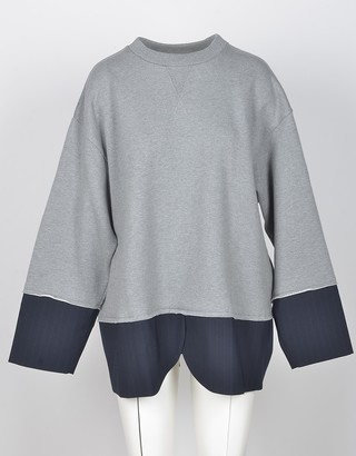 Mm6 Maison Martin Margiela Women's Gray Sweatshirt