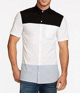 William Rast Color Block Short-Sleeve Shirt