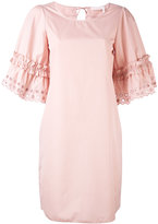 See by Chloe shift dress - women - Cotton - 36