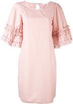 See by Chloe shift dress - women - Cotton - 38