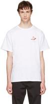 Saturdays NYC White Lotus Flower T-shirt