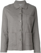 Majestic Filatures buttoned jacket - women - Linen/Flax - 1