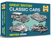 Haynes Great British Cars Edition Jigsaw