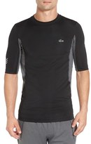 Lacoste Men's Fitted Compression Training T-Shirt