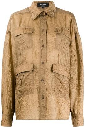 Rochas Crinkle Effect Shirt