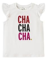 Kate Spade Girls' Cha Cha Cha Tee - Little Kid