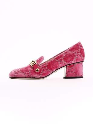Gucci Pumps Sylvie Pink Velvet