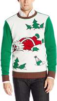 The Ugly Christmas Sweater Kit Men's Drunk Santa