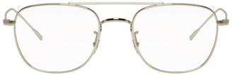 Oliver Peoples Silver Kress Glasses