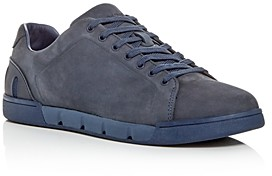 Swims Men's Breeze Nubuck Leather Low-Top Sneakers