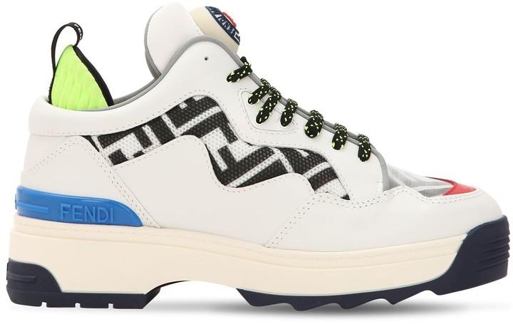 online store 45e81 07768 Fendi White Women's Sneakers - ShopStyle