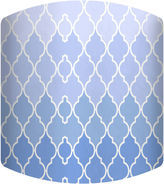 Asstd National Brand Color of the Sky Pattern Drum Lamp Shade