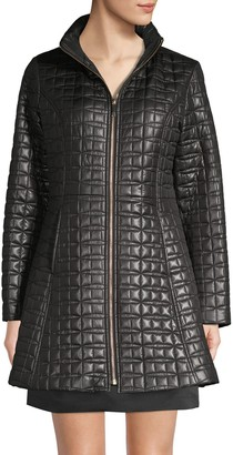 Kate Spade Quilted Bow A-line Jacket
