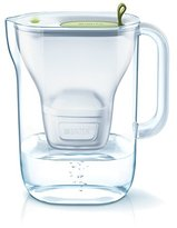 Brita Style Water Filter Jug and Cartridge, Soft Lime