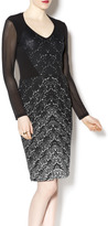 PAPILLON BLANC Long Sleeve Lace Dress