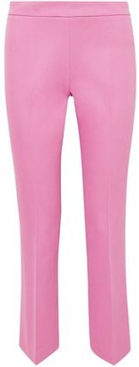 Giambattista Valli Cropped Cotton-blend Straight-leg Pants