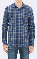 Mavi Jeans Double Pocket Shirt - Indigo Check