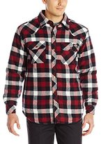 Dickies Men's Quilted Lined Shirt Jacket