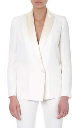 Lanvin White Single Breasted Blazer