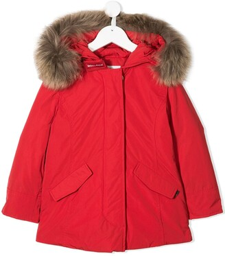 Woolrich Kids Arctic hooded down parka