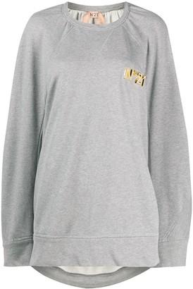 No.21 Oversized Sweatshirt