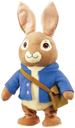 Beatrix Potter Peter Rabbit Talk and Hop Peter Soft Toy