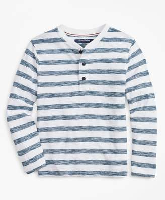 Brooks Brothers Boys Stripe Henley