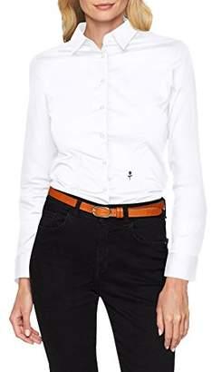 Seidensticker Schwarze Rose Women's Hemdbluse Langarm Slim Fit Uni Stretch Slim Fit Long Sleeve Blouse,(Manufacturer Size: )