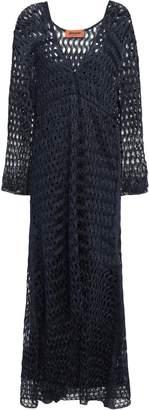 Missoni Metallic Open-knit Midi Dress
