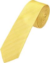 Oxford Silk Tie Zigzag Skny
