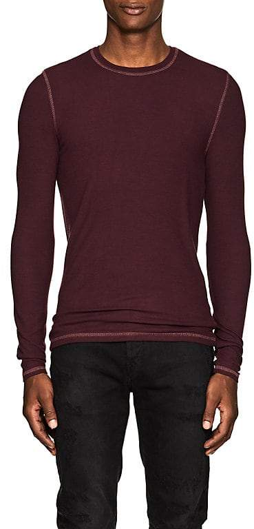 ATM Anthony Thomas Melillo MEN'S RIB-KNIT T-SHIRT