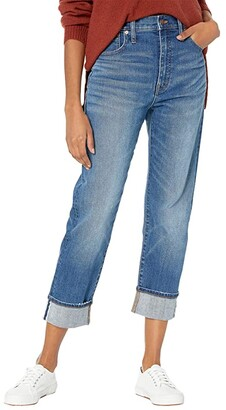Madewell Classic Straight Jeans in Ives Wash: Selvedge Edition (Ives Wash) Women's Jeans