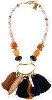 Lizzie Fortunato Tassel Bead Necklace