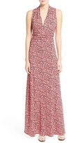 Vince Camuto 'Shadow Forms' Print Jersey Maxi Dress (Regular & Petite)