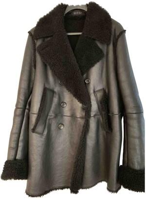 Gucci Black Shearling Coats