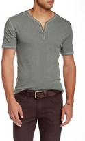 John Varvatos Star USA By Snap Henley Tee