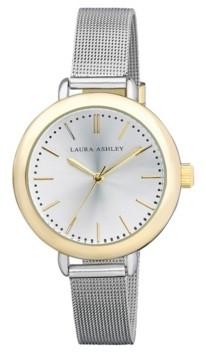 Laura Ashley Ladies' Two Tone Mesh Watch