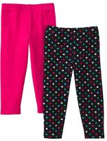 Carter's 2-Pk. Polka-Dot Leggings