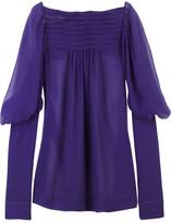 Campos sheer silk blouse