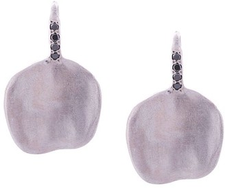 Rosa Maria Win black diamond earrings