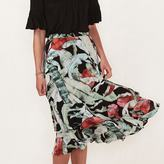 Lauren Conrad Women's Tiered Midi Skirt