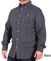 Jeep Men's Oxford Cotton Plaid Shirt