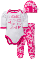 Gerber Chicago Bears Pink Footie Pants Set - Infant