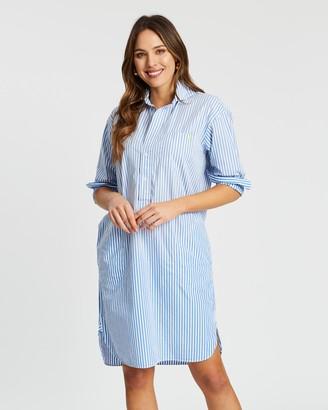 Polo Ralph Lauren Long Sleeve Casual Shirt Dress
