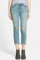 Free People Destroyed Skinny Jean
