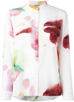 Cacharel blurry print shirt - women - Silk - 40