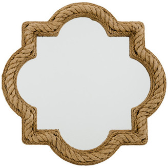 Winston Decor Quatrefoil Rope Mirror