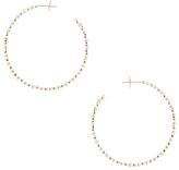 Stone Paris Yasmine Hoop Earrings in Metallics.